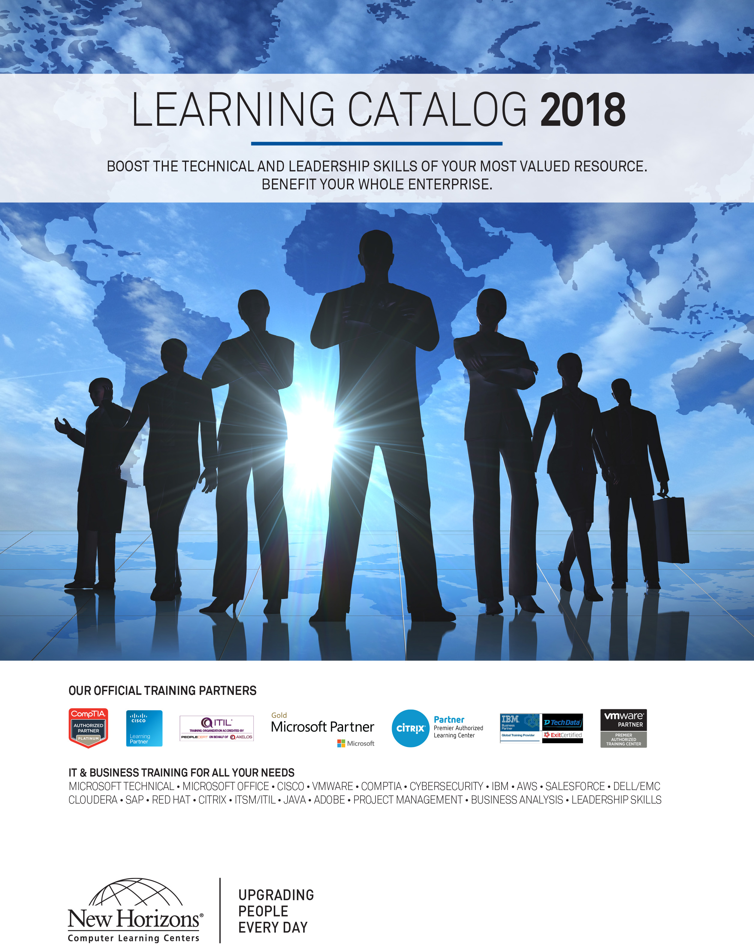 2018 New Horizons Learning Catalog