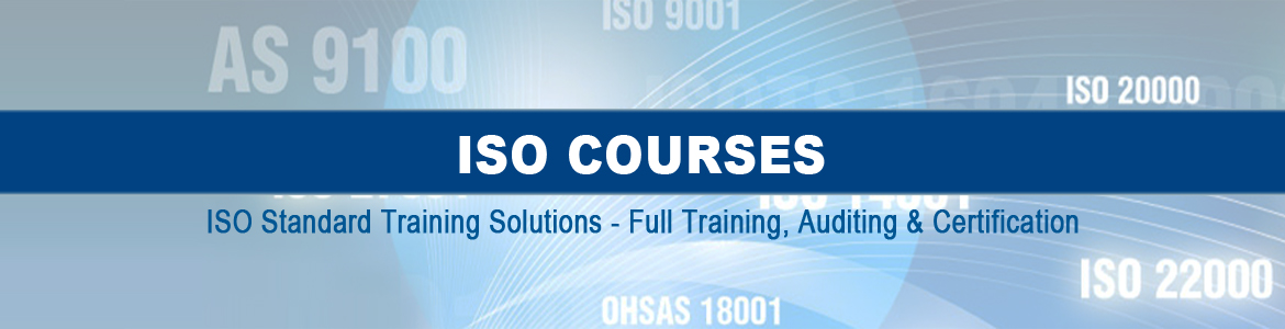 ISO Standard Training Certification Courses