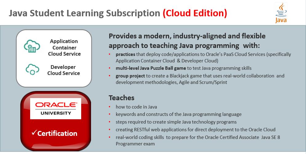 Oracle Workforce Development Program